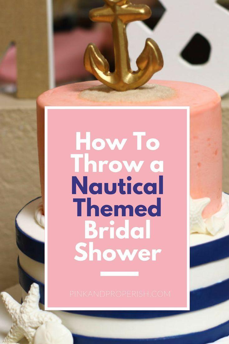 A Nautical Bridal Shower