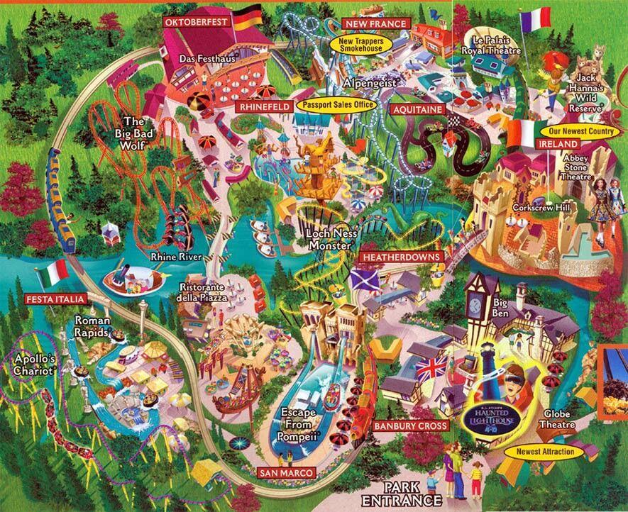 Busch Gardens Williamsburg Va Discount Tickets Aaa