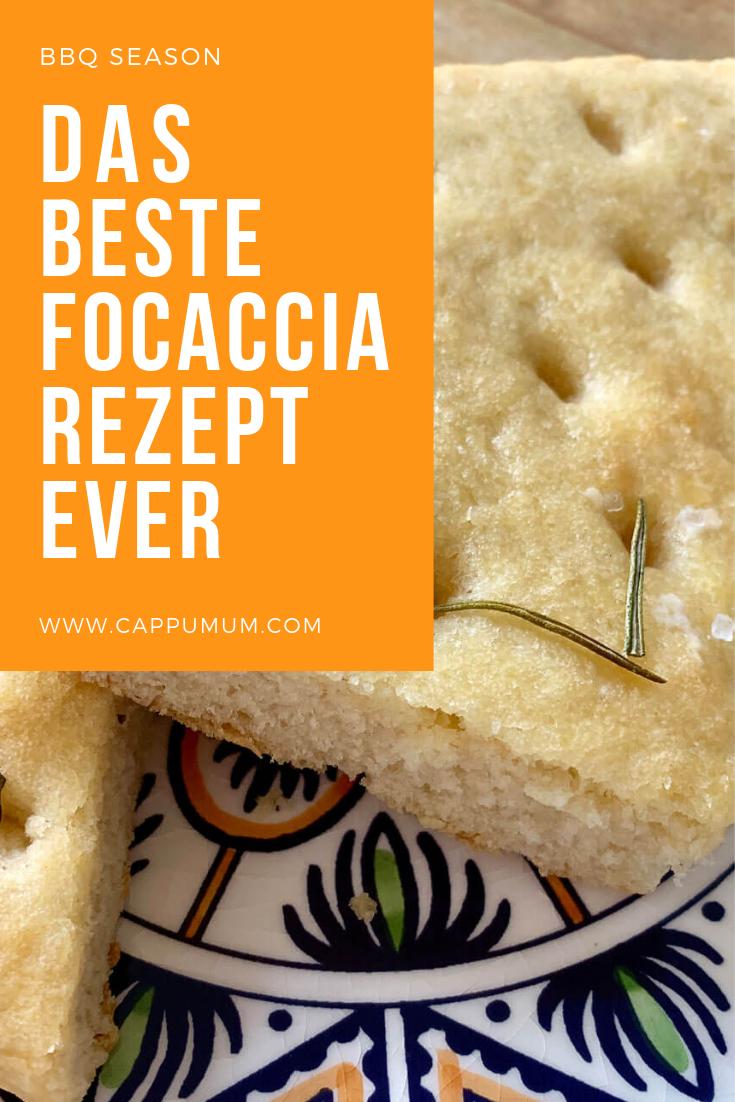 Focaccia Rezept: Leckeres Foccacia Brot mit Rosmarin