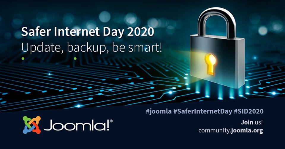 It S Safer Internet Day In 2020 Safe Internet Joomla Day