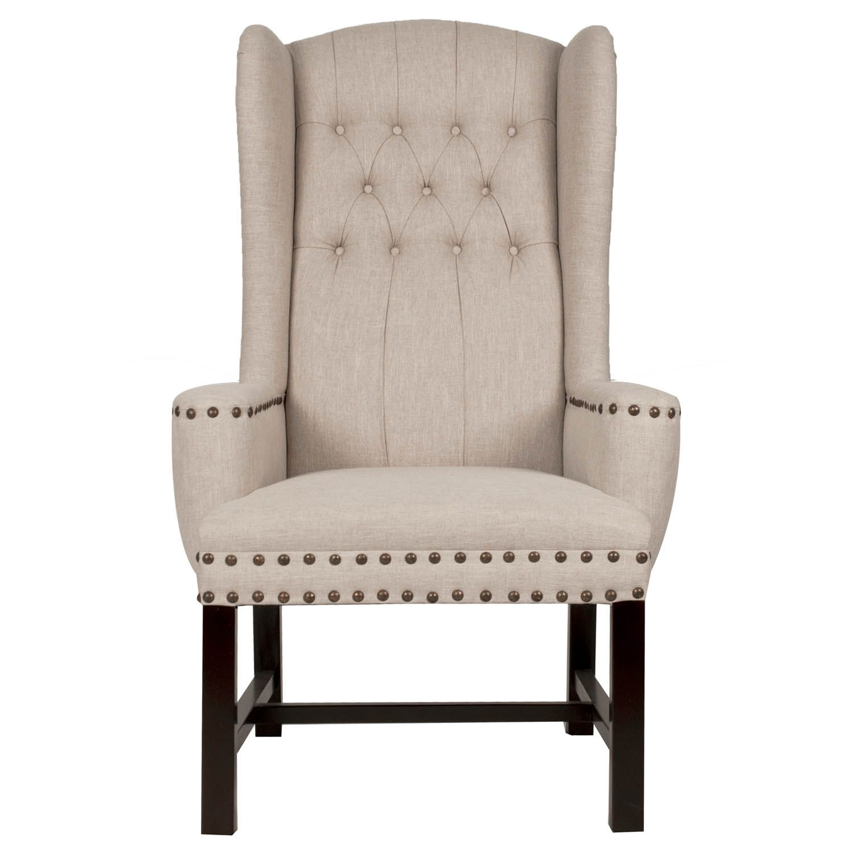 Brook Arm Chair Glam Farmhouse Dining End chair