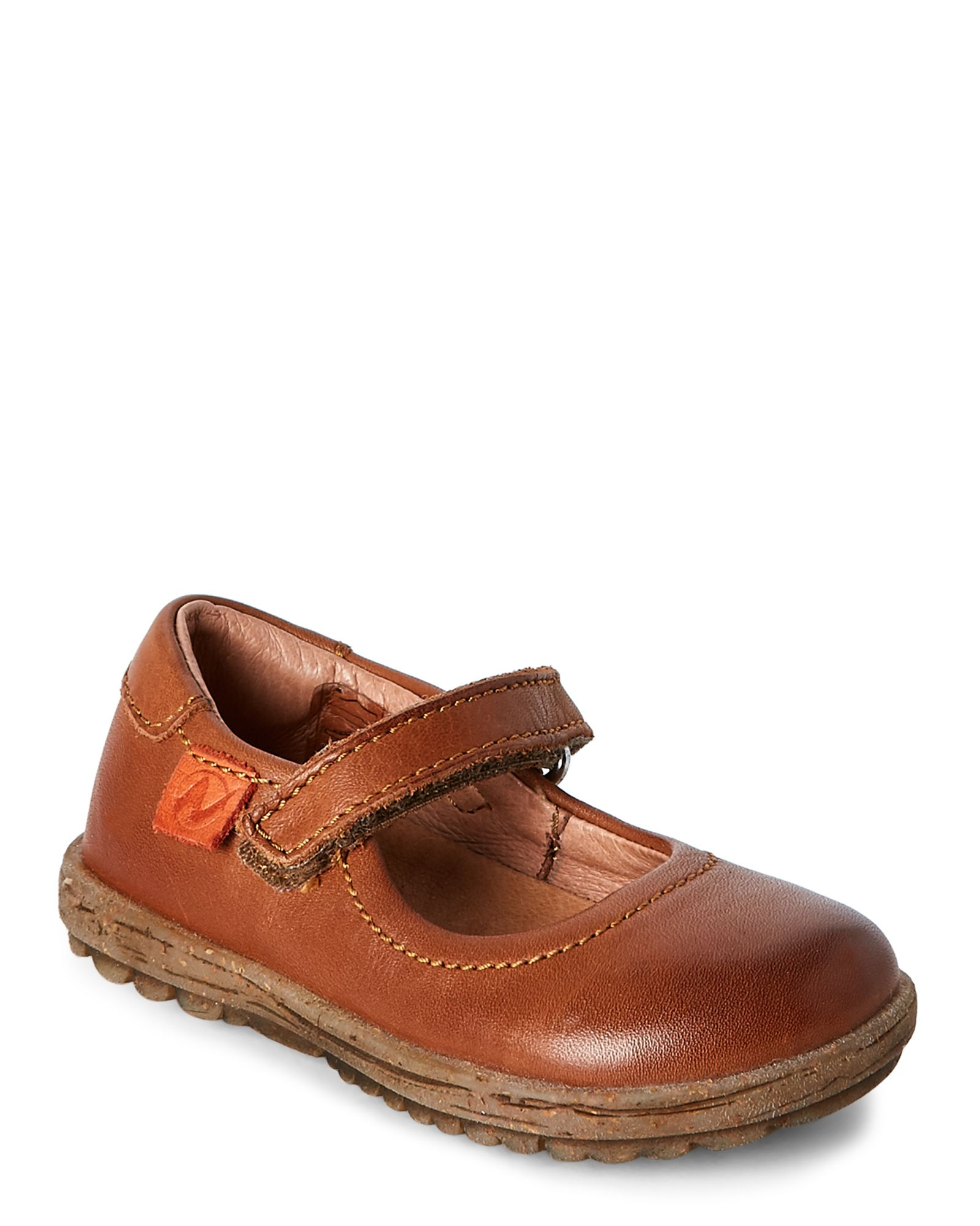 Naturino (Toddler Girls) Brown Mary Jane Shoes