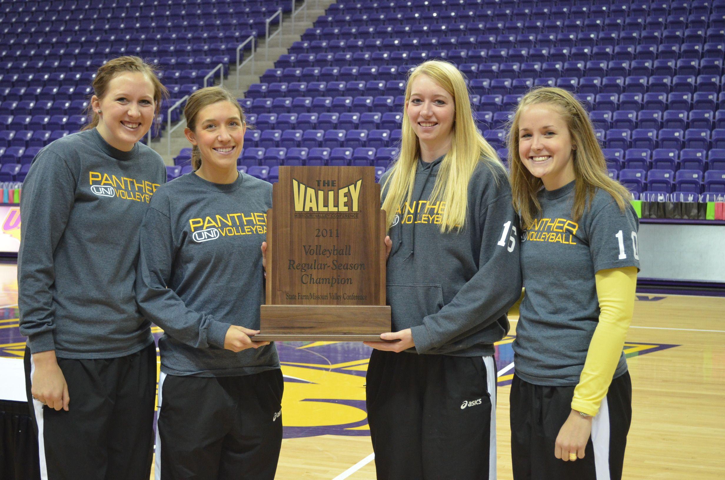 2011 Volleyball Regular Season Champions Northern Iowa Northern Iowa Iowa Champion