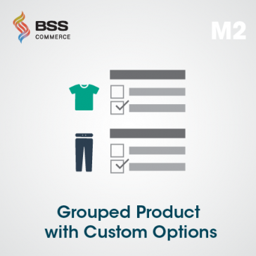 Grouped Product with Custom Options for Magento 2 | Magento 2