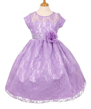 827dd6cfab Loving this Lilac Cap-Sleeve Gown - Toddler   Girls on  zulily!  zulilyfinds