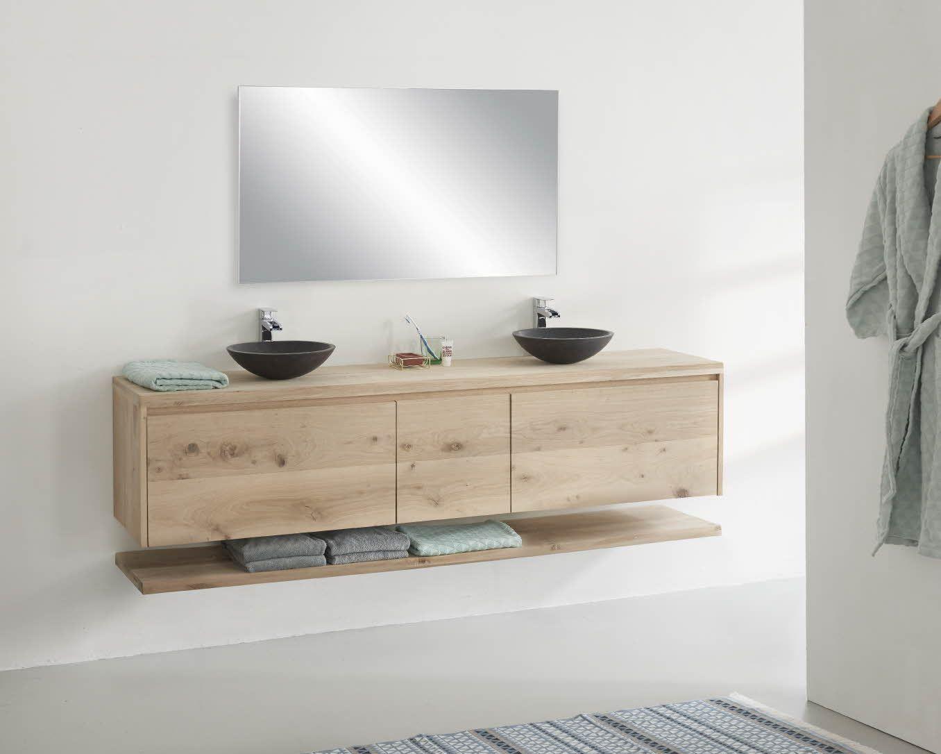 Inloopdouche Met Wastafelkast : Maak een designer tv meubel van eikenhout stappenplannen praxis