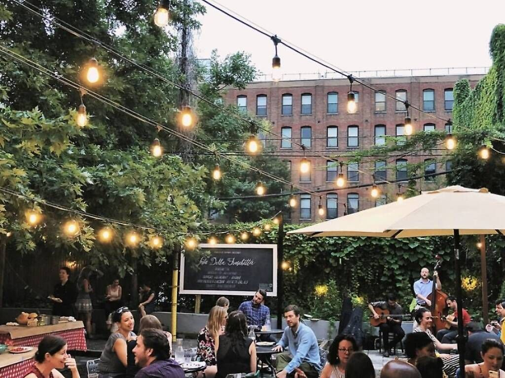 The Best Restaurants For Eating Outside In Nyc The Big