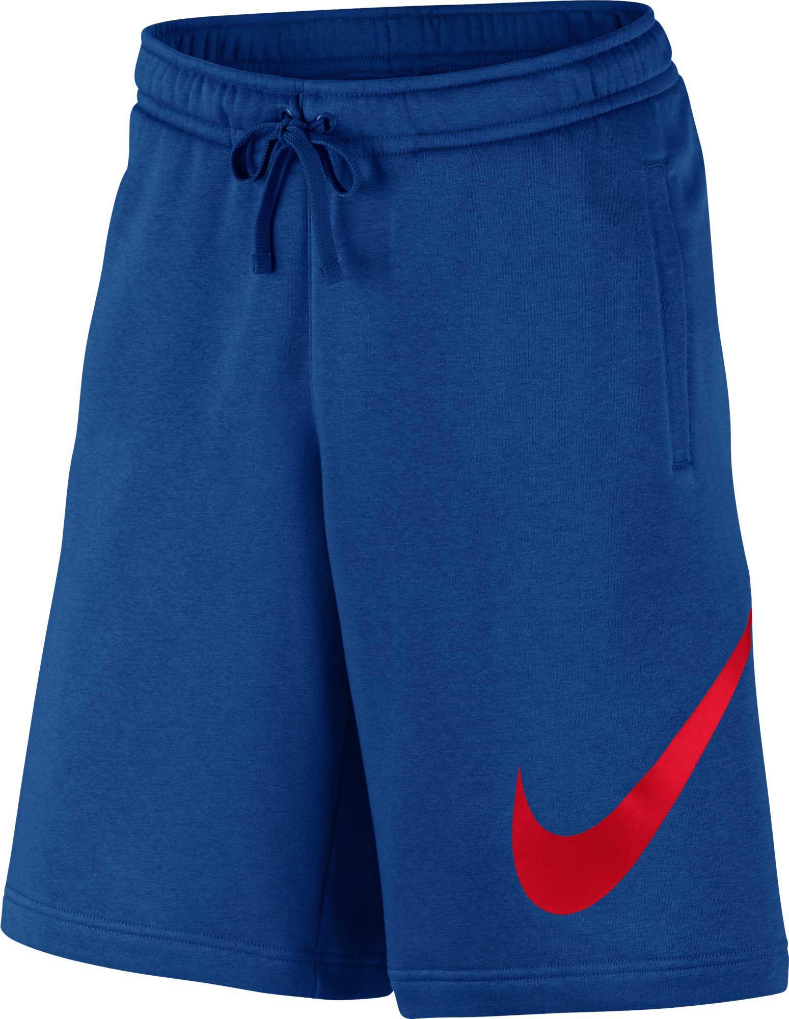 reputable site 94393 96d81 Nike Men s Sportswear Club Fleece Sweatshorts, Blue