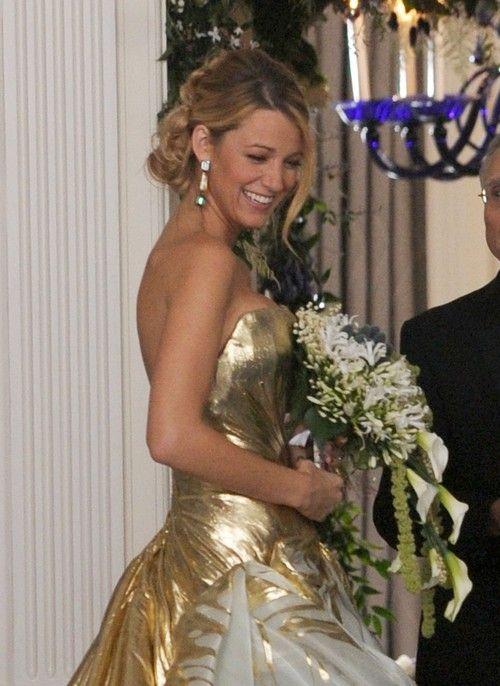 Serena Van Der Woodsen Wedding Dress S06e10