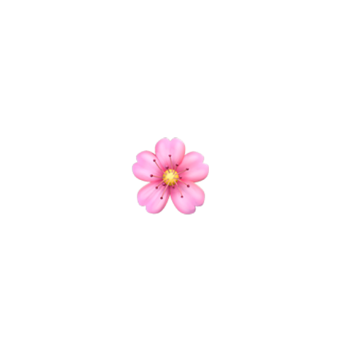 Popular And Trending Flower Stickers Di 2020 Emoji Menggambar Emoji Stiker