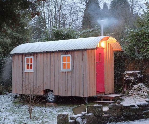 Shepherd Hut Floor Plans: 13 Handmade Tiny Houses