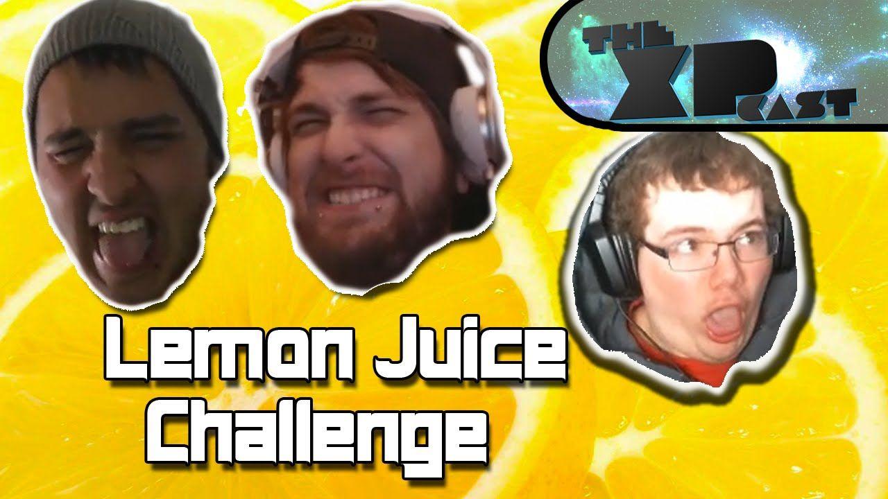 LEMON JUICE CHALLENGE!!