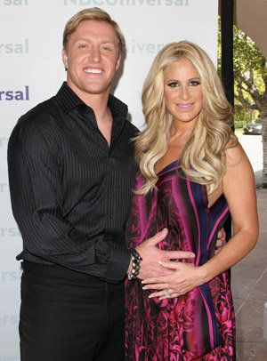 'Real Housewives' star Kim Zolciak and NFL husband Kroy Jagger Biermann gives their new son the name, Kash Kade