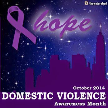 It's Domestic Violence Awareness Month!