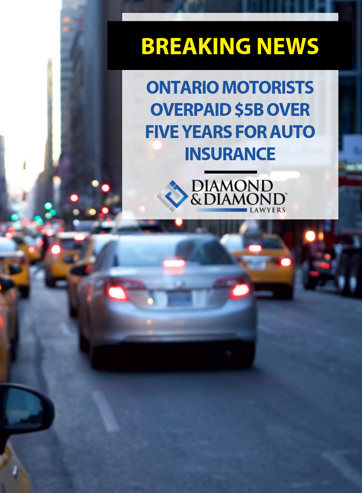 Ontario Motorists Overpaid 5b Over Five Years For Auto Insurance