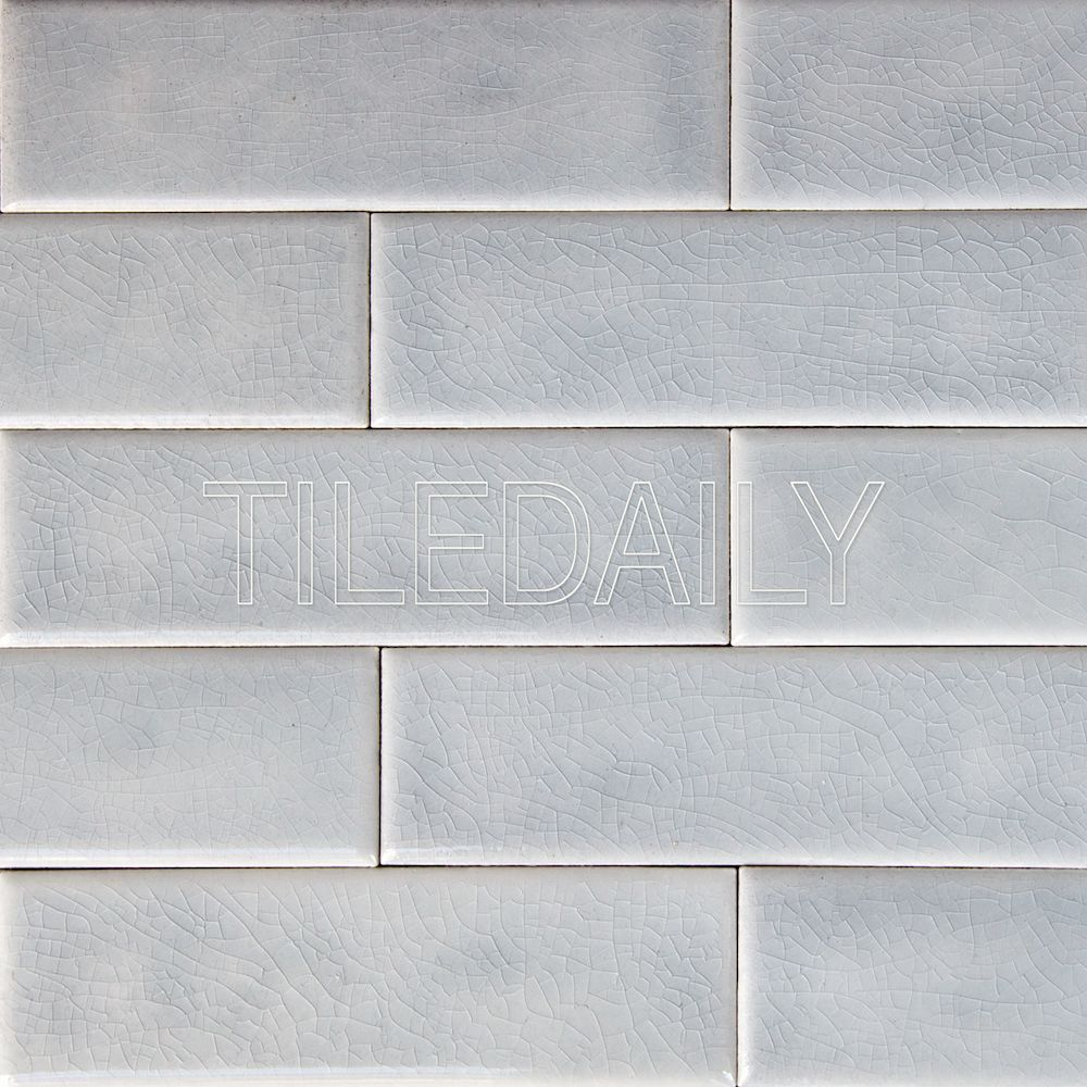 Oxford Crackle Tiles Gray White Kitchen Gray Kitchen