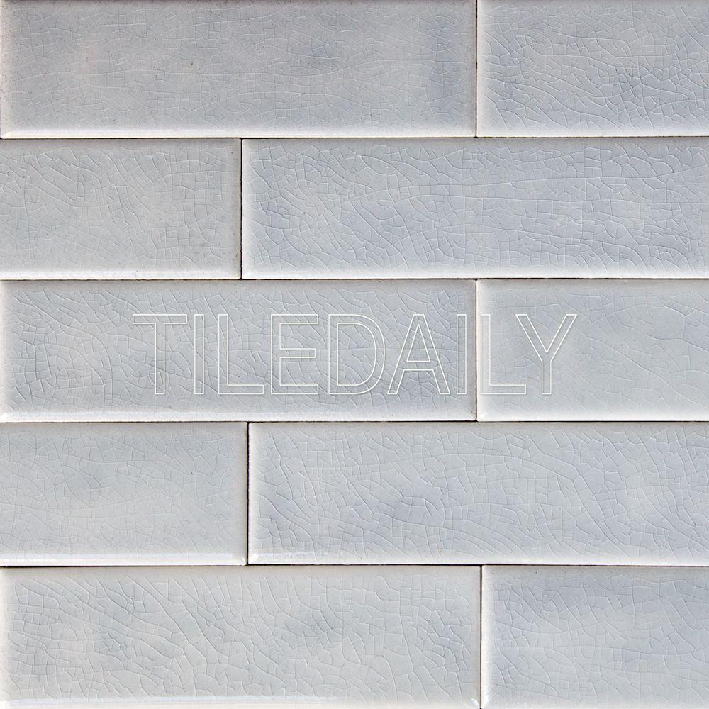 Oxford Crackle Crackle Tile Tiles Gray Kitchen Backsplash