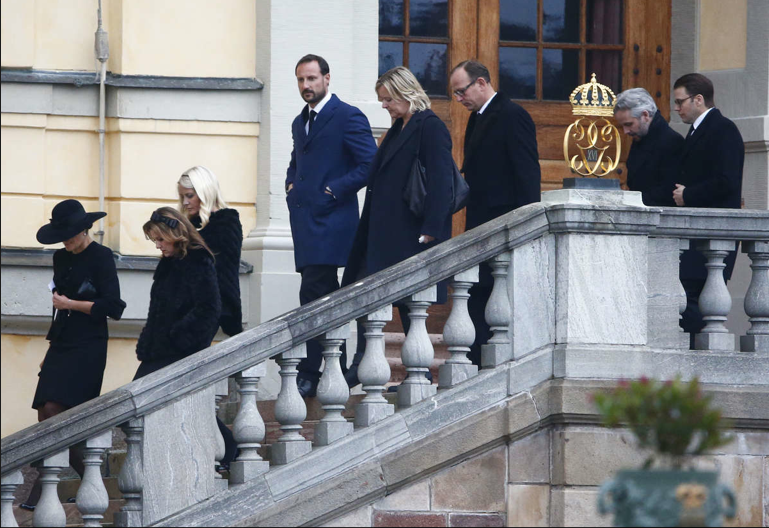 Queens & Princesses - The royal families of Sweden and Norway attended the funeral of Princess Kristine Bernadotte in the chapel of the palace of Drottningholm. The princess was then buried in the royal cemetery of Haga.