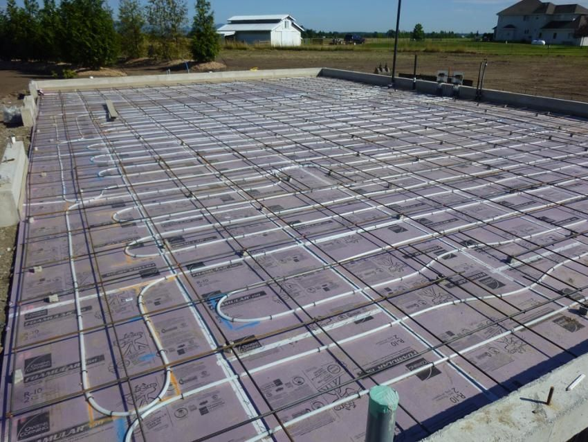 40x60in floor heat