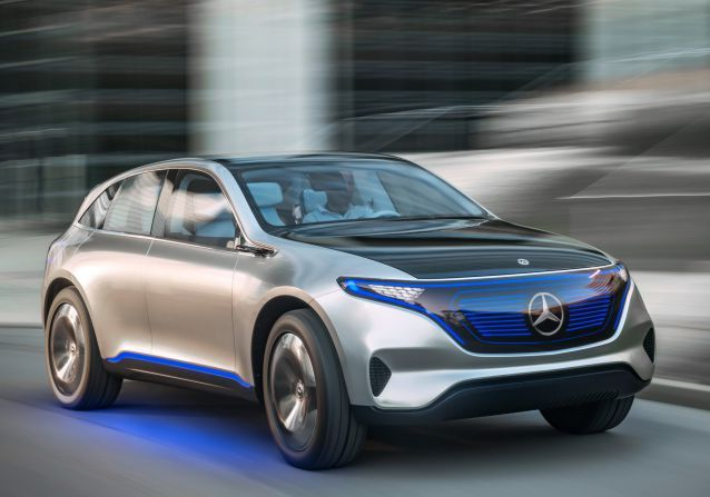 Mercedes-Benz Generation EQ Concept gets the max power of 300 kW(about 402 hp) and the twist of 516...10 all-electric models to global market within 2025... #MercedesBenzGenerationEQConcept #MercedesGenerationEQConcept #MercedesEQConcept #MercedesConcept