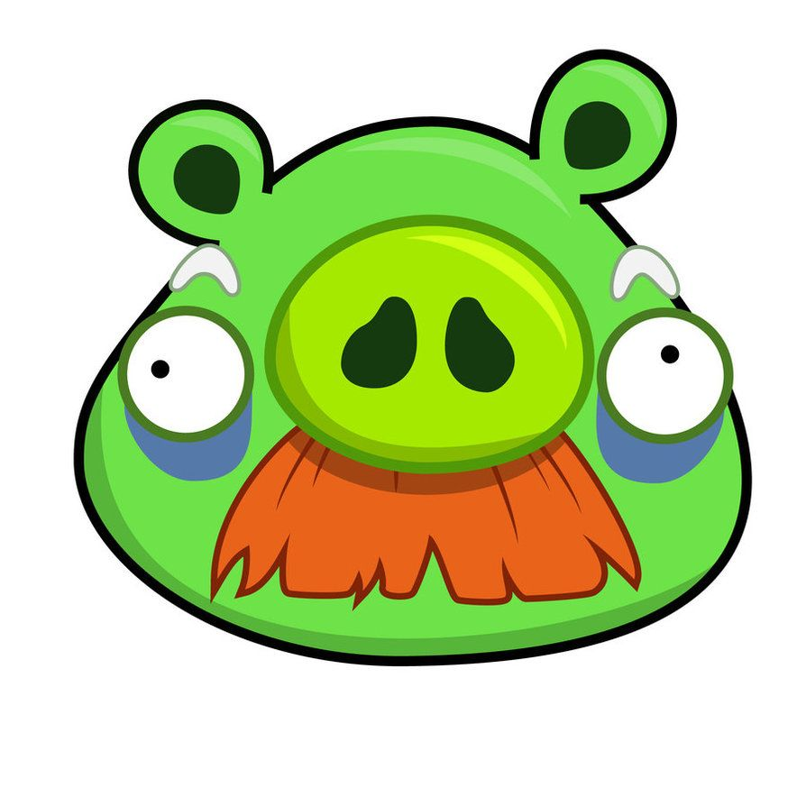 angry birds piggies angry bird old pig by life as a coder on rh pinterest com
