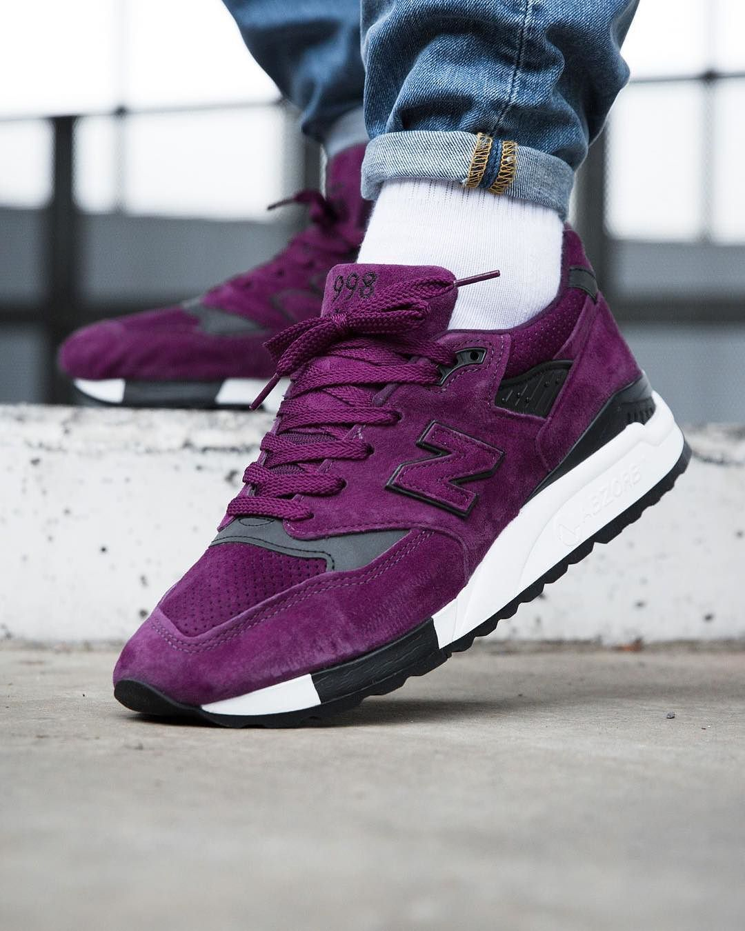 "084d67e02e4a4 New Balance M998CM ""Made in USA"" Purple 
