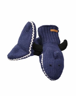 "These are Adult size mittens! there are so many fun mittens on this site! ""Hand Shark!"" instead of ""Land Shark"""