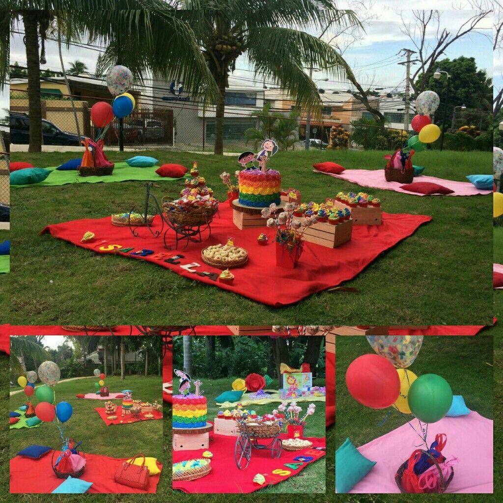 Picnic Idea Idea Para Celebrar Un Cumpleaños Tipo Picnic Es Genial Práctico Bonito Y Los Niños Lo Dis Picnic Niños Actividades Para Niños Pequeños Picnic