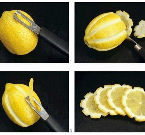 citrom dísz