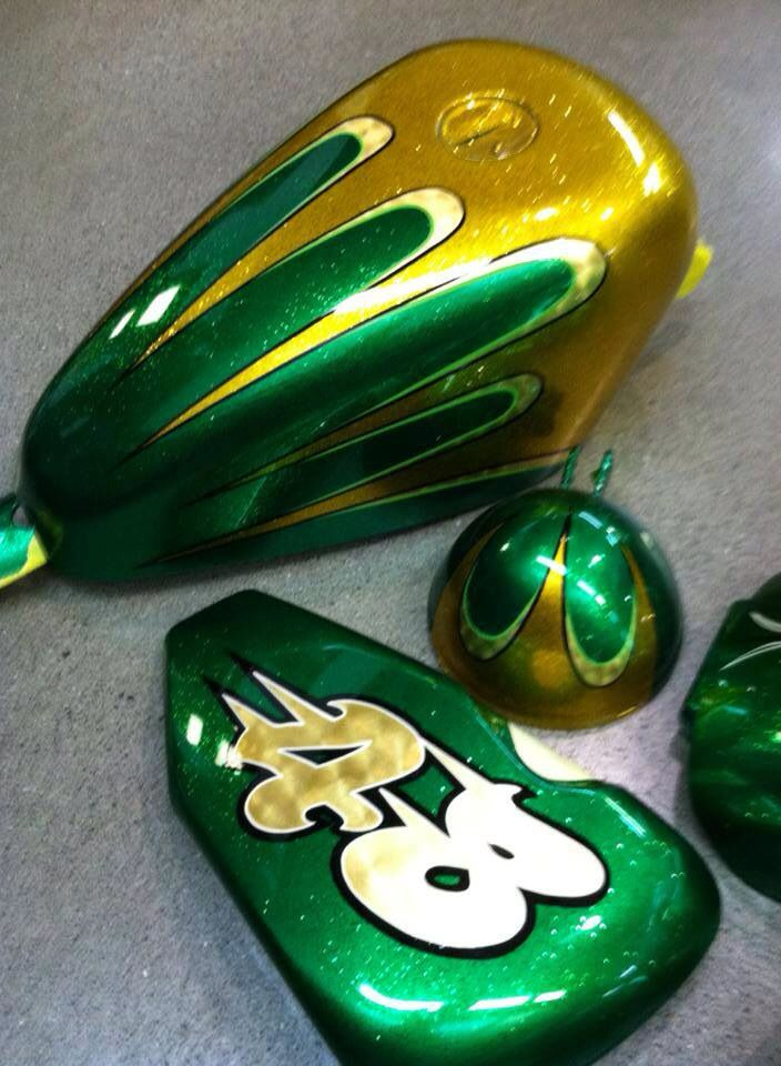 Pictures Of Irish Green Candy Motorcycle Paint