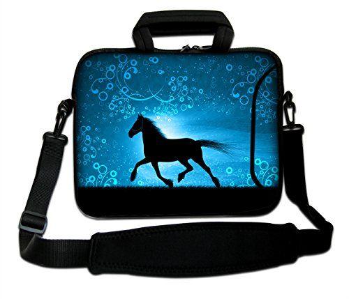 "Laptop Macbook Pro Chromebook Sleeve Bag Case Hidden Handle Fit 13.3/"" 13/"" 2908"