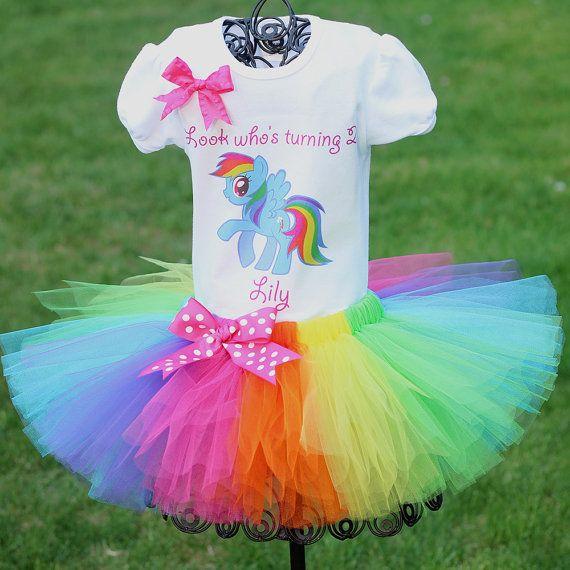 4941f46a3 My Little Pony Tutu Outfit Birthday Outfit por TwistinTwirlinTutus ...
