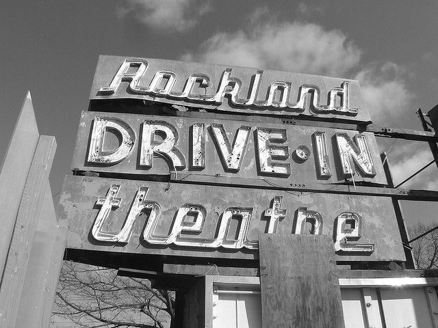 Rockland Drive In Theatre By Kerfuffle Zeitgeist Via
