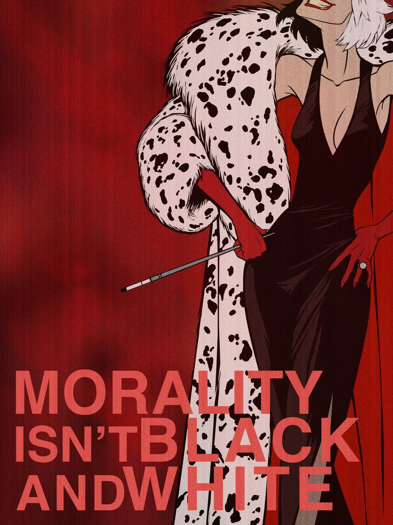 Morality Isn't Black And White by ~chrisables on deviantART