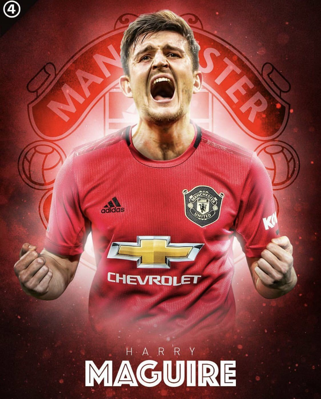 Bbc Manchester United Reached An Agreement With Lester For Harry Maguire Transfer Will Manchester United Wallpaper Manchester United Manchester United Team