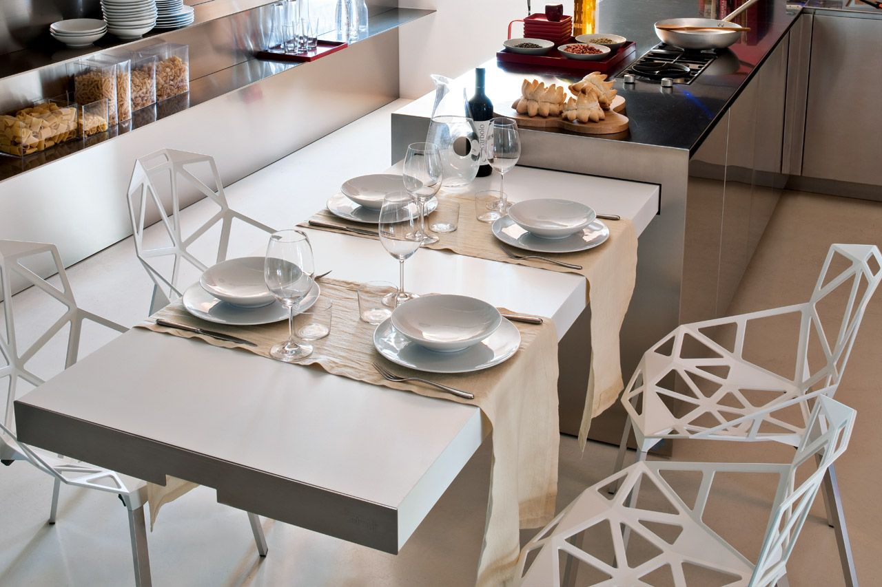 ispirazioni di cucine moderne e di design | elmar cucine ... - Tavolo Penisola Cucina