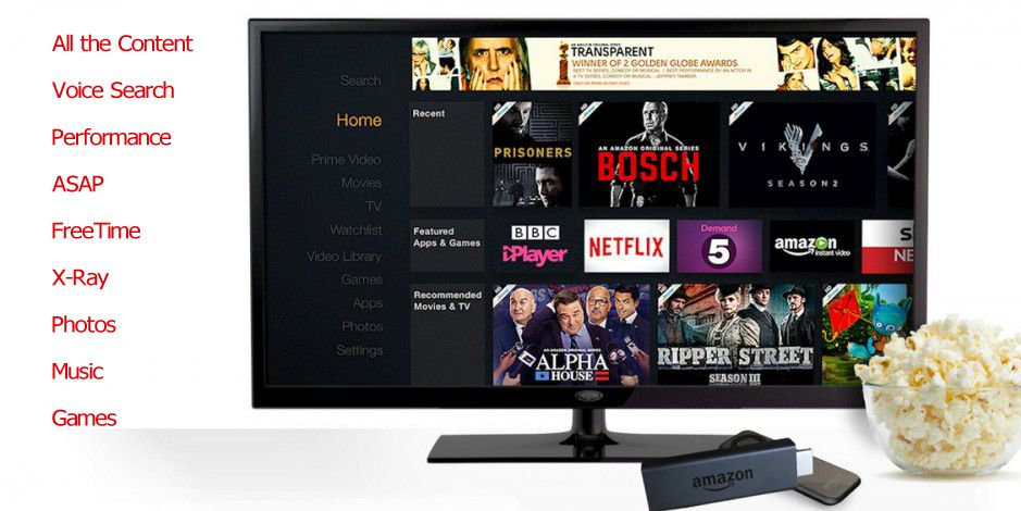 Amazon already sells a streaming media box with additional