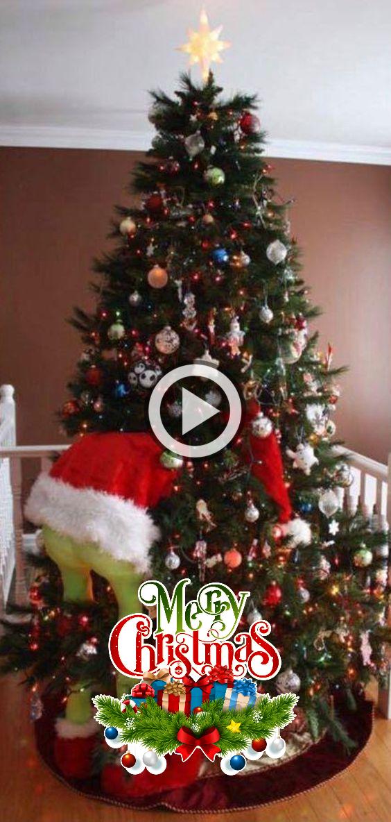 Grinch Christmas Tree In 2020 Grinch Christmas Tree Merry Xmas Happy Xmas