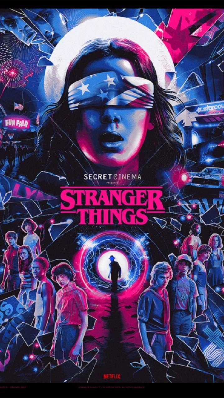 Stranger Things SC wallpaper by PattyFuryGaming - cd - Free on ZEDGE™