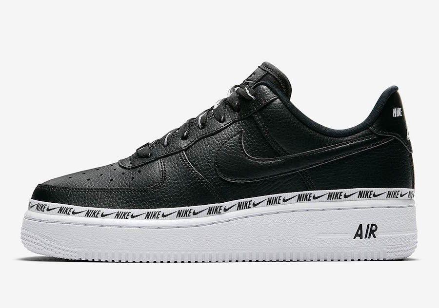 Nike Air Force 1 Low Ribbon Pack Black Ah6827 002