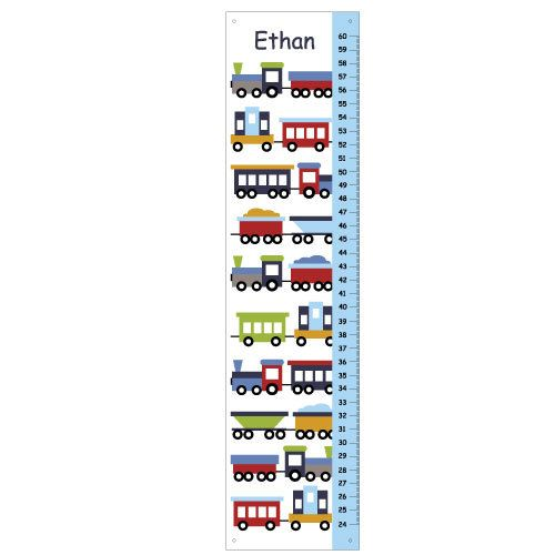 Children Trains GROWTH CHART for boys Growth charts, Children - boys growth chart