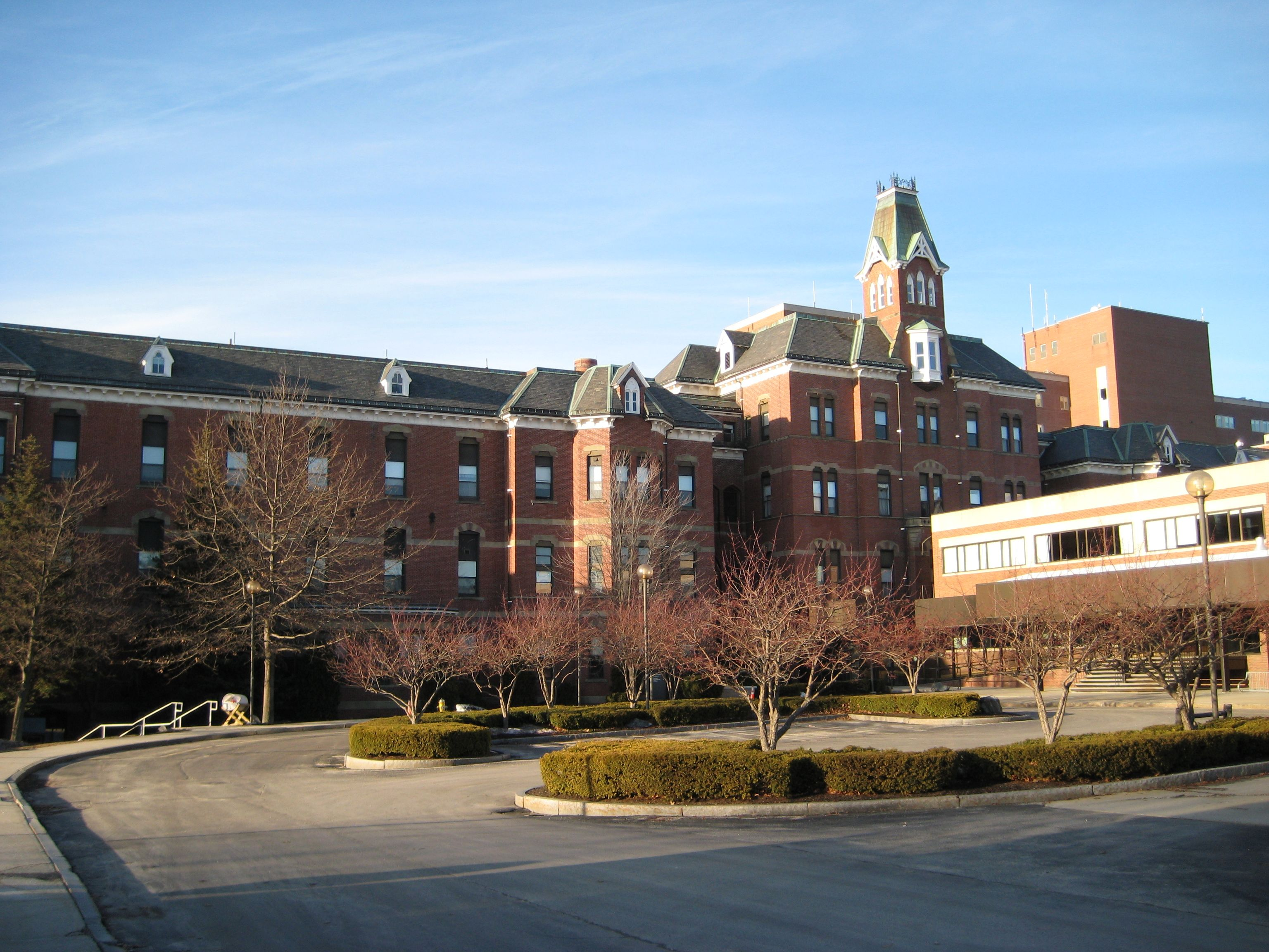 Maine medical center an exceptionally attractive hospital