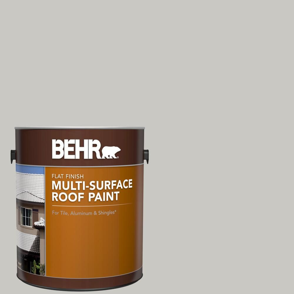 Best Behr 1 Gal Ms 79 Silver Gray Pebble Flat Multi Surface 400 x 300