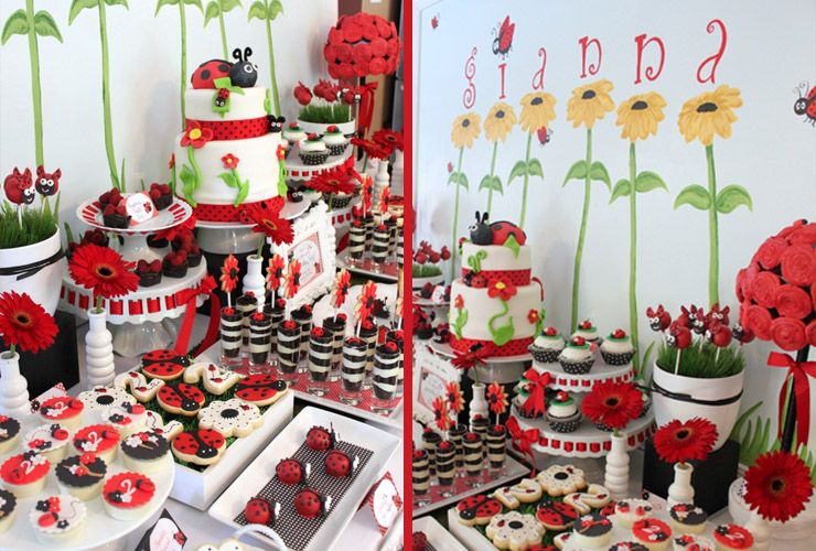 Blog Featured Ladybug Themed Birthday Party Party Supplies and