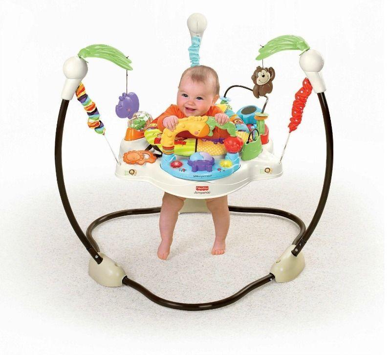 c0f58d2c8387 Baby Luv U Zoo Jumperoo Kids Jumper Walker Bouncer Fisher Price ...