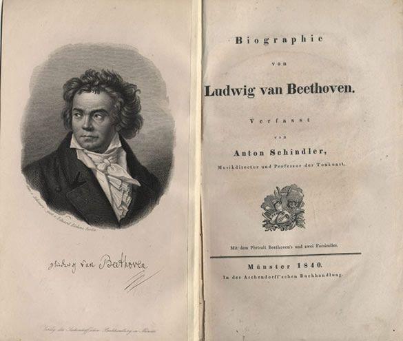 Anton Felix Schindler, Biographie von Ludwig van Beethoven First ...