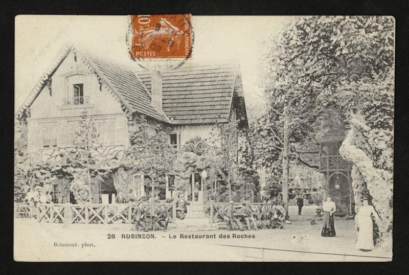 Robinson Le Restaurant Des Roches A Le Plessis Robinson Le