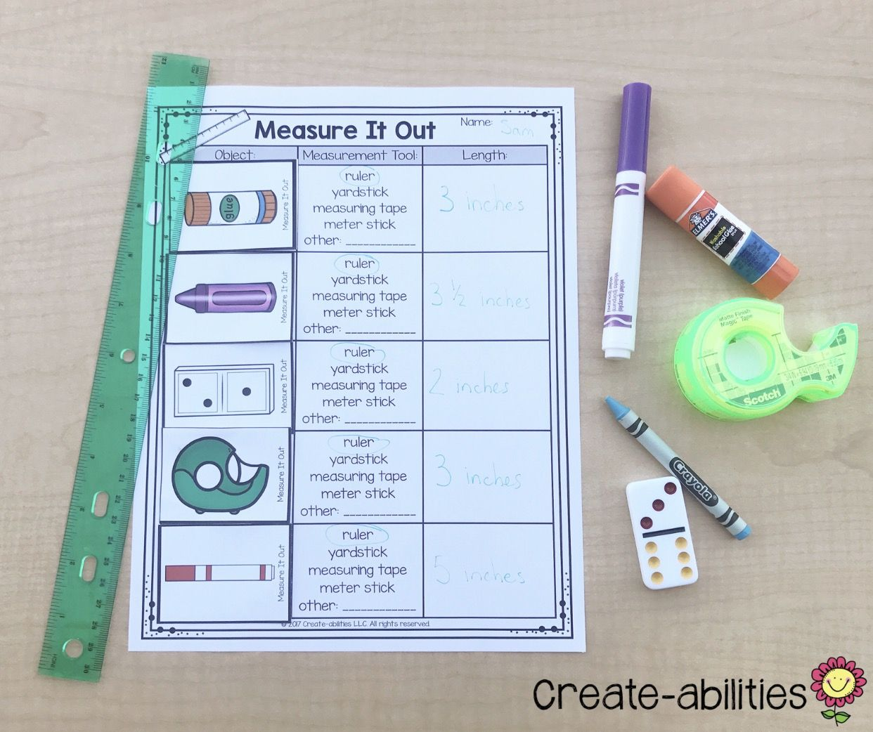 These First Grade Measurement Activities Are A Great