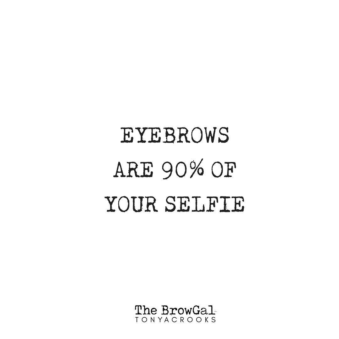 Get Your Brows Selfie Ready Every Single Day With Your Fav Thebrowgal Products Selfie Betterbrowsforeve Brow Quotes Makeup Quotes Funny Eyebrow Quotes