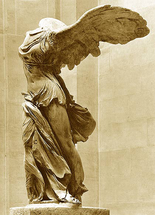 Nike of Samothrace--my all time favorite sculpture